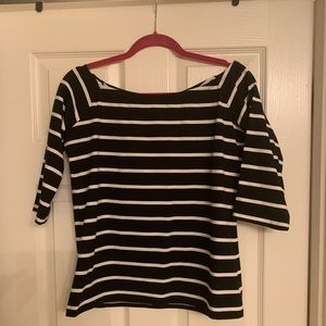 Gap Striped boat neck Large